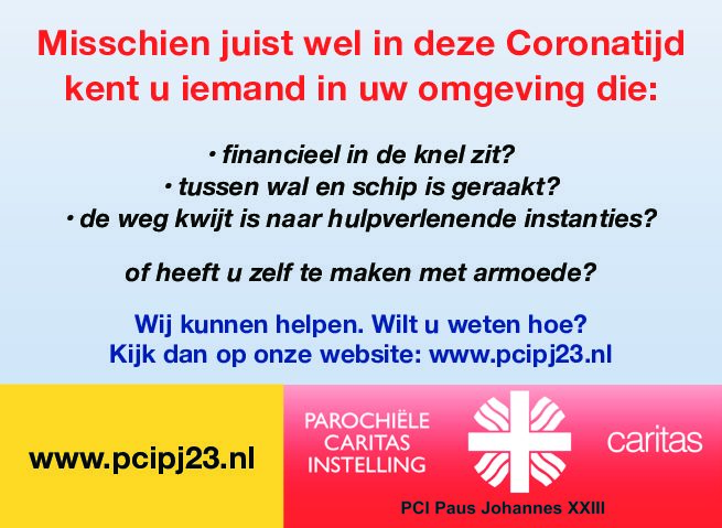 Financieel in de problemen door Corona?